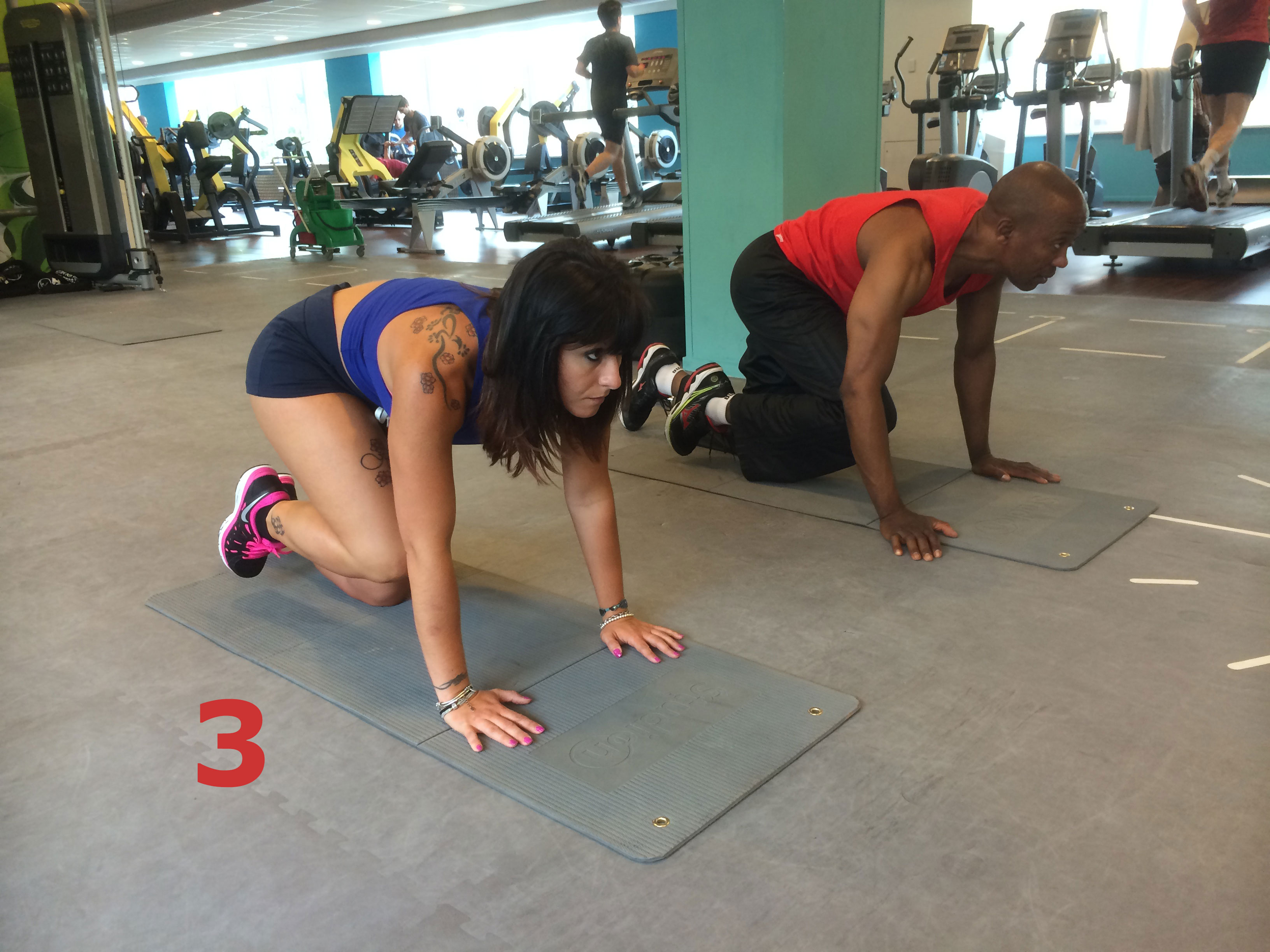 Exercice pour des fesses en béton